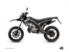 Derbi DRD Xtreme 50cc Predator Graphic Kit Black
