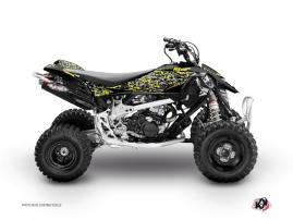 Kit Déco Quad Predator Can Am DS 450 Noir Gris Jaune