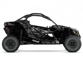 Kit Déco SSV Predator Can Am Maverick X3 Noir Gris