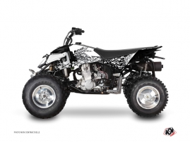 Polaris Outlaw 450 ATV Predator Graphic Kit White