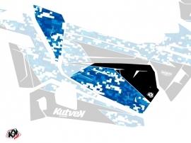 Graphic Kit Doors Origin Low Predator UTV Polaris RZR 900S/1000/Turbo 2015-2017 Blue