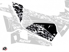 Graphic Kit Doors Origin Low Predator UTV Polaris RZR 900S/1000/Turbo 2015-2017 Black