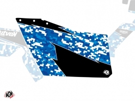 Graphic Kit Doors Origin Polaris Predator UTV Polaris RZR 570/800/900 2008-2014 Blue