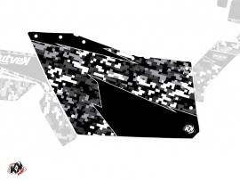 Kit Déco Portes Origine Polaris Predator SSV Polaris RZR 570/800/900 2008-2014 Noir