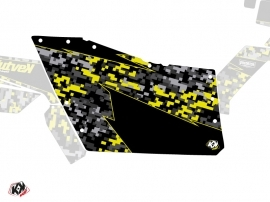 Graphic Kit Doors Origin Polaris Predator UTV Polaris RZR 570/800/900 2008-2014 Black Grey Yellow