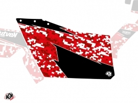 Graphic Kit Doors Origin Polaris Predator UTV Polaris RZR 570/800/900 2008-2014 Red