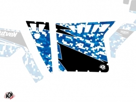Graphic Kit Doors Suicide Pro Armor Predator UTV Polaris RZR 570/800/900 2008-2014 Blue