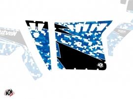 Kit Déco Portes Suicide Pro Armor Predator SSV Polaris RZR 570/800/900 2008-2014 Bleu