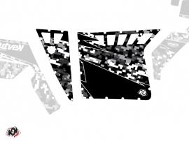Kit Déco Portes Suicide Pro Armor Predator SSV Polaris RZR 570/800/900 2008-2014 Noir