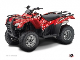 Honda Rancher 420 ATV Predator Graphic Kit Red