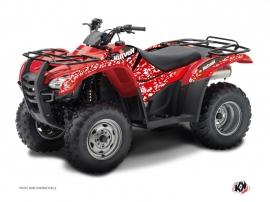 Kit Déco Quad Predator Honda Rancher 420 Rouge