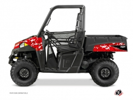 Polaris Ranger 570 UTV Predator Graphic Kit Red