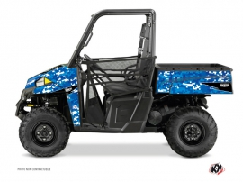 Polaris Ranger 900 UTV Predator Graphic Kit Blue