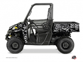 Polaris Ranger 900 UTV Predator Graphic Kit Black