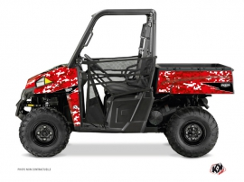 Kit Déco SSV Predator Polaris Ranger 900 Rouge