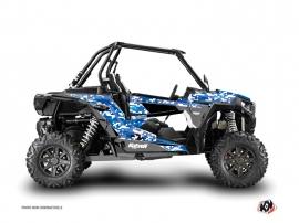 Polaris RZR 1000 UTV Predator Graphic Kit Blue