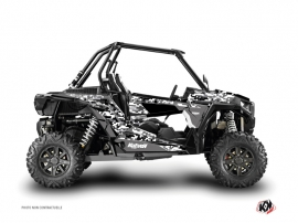 Polaris RZR 1000 UTV Predator Graphic Kit Black