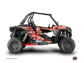 Kit Déco SSV Predator Polaris RZR 1000 Rouge