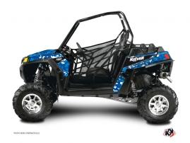 Polaris RZR 170 UTV Predator Graphic Kit Blue