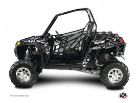 Polaris RZR 170 UTV Predator Graphic Kit Black