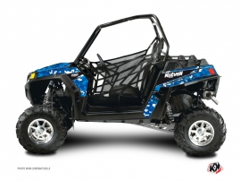 Polaris RZR 800 S UTV Predator Graphic Kit Blue