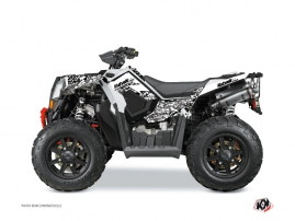 Kit Déco Quad Predator Polaris Scrambler 850-1000 XP Blanc