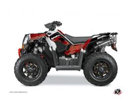 Kit Déco Quad Predator Polaris Scrambler 850-1000 XP Rouge Noir