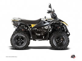 TGB Target ATV Predator Graphic Kit Black Yellow