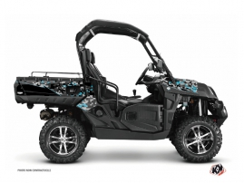 Kit Déco SSV Predator CF Moto U Force 800 Noir Turquoise