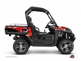 Kit Déco SSV Predator CF Moto U Force 800 Rouge