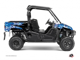 Yamaha Viking UTV Predator Graphic Kit Blue