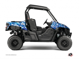 Yamaha Wolverine-R UTV Predator Graphic Kit Blue