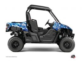 Kit Déco SSV Predator Yamaha Wolverine R Bleu