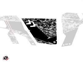 Kit Déco Portes Standard XRW Predator Can Am Commander 2011-2017 Noir