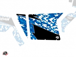 Graphic Kit Doors Suicide XRW Predator UTV Polaris RZR 570/800/900 2008-2014 Blue