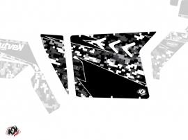 Kit Déco Portes Suicide XRW Predator SSV Polaris RZR 570/800/900 2008-2014 Noir