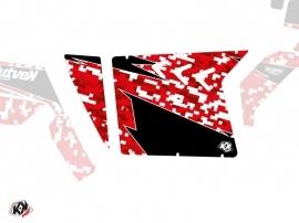 Kit Déco Portes Suicide XRW Predator SSV Polaris RZR 570/800/900 2008-2014 Rouge