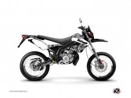 Kit Déco 50cc Predator Derbi Xtreme / Xrace Blanc