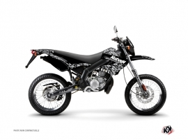 Derbi Xtreme / Xrace 50cc Predator Graphic Kit Black