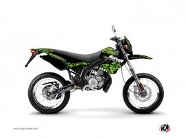 Kit Déco 50cc Predator Derbi Xtreme / Xrace Noir Vert