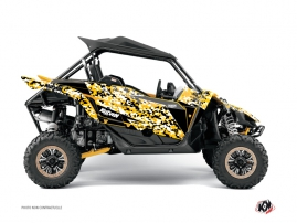 Kit Déco SSV Predator Yamaha YXZ 1000 R Noir Jaune