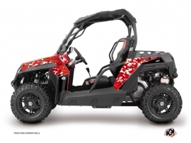 CF Moto Z Force 1000 UTV Predator Graphic Kit Red