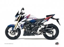 Kit Déco Moto Profil Suzuki GSR 750 Blanc