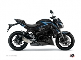 Suzuki GSX-S 1000 Street Bike Profil Graphic Kit Black Blue
