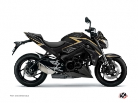 Kit Déco Moto Profil Suzuki GSX 1000 S Noir Jaune
