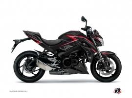 Kit Déco Moto Profil Suzuki GSX 1000 S Noir Rouge