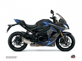 Suzuki GSX-S 1000 F Street Bike Profil Graphic Kit Black Blue