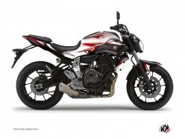 Kit Déco Moto Profil Yamaha MT 07 Rouge