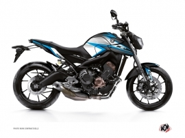 Kit Déco Moto Profil Yamaha MT 09 Bleu