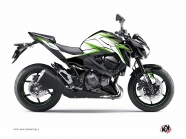 Kit Déco Moto Profil Kawasaki Z 800 Vert